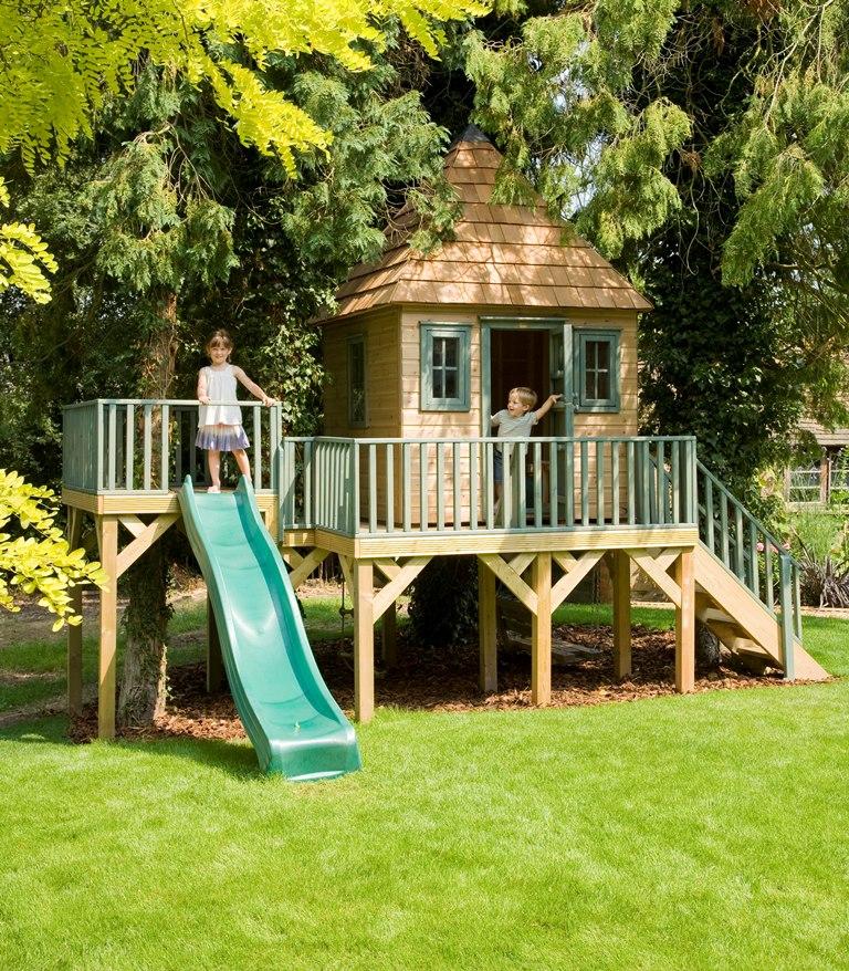 Medinių namelių įtaka vaikams